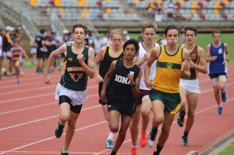 athletics AIC running