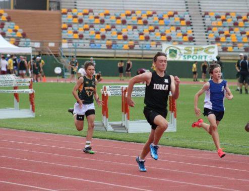 athletics sprint