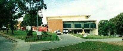 Iona Performing Arts Centre under construction 1998