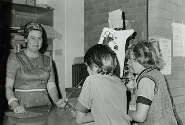Mrs Kay Voltz in 1975